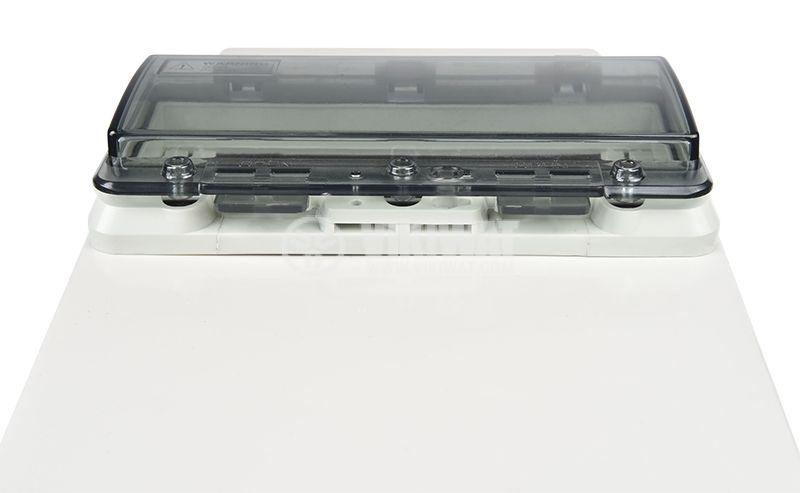 Switch box TJ-AGX-3819, 380x190x150mm, IP67, PVC - 5