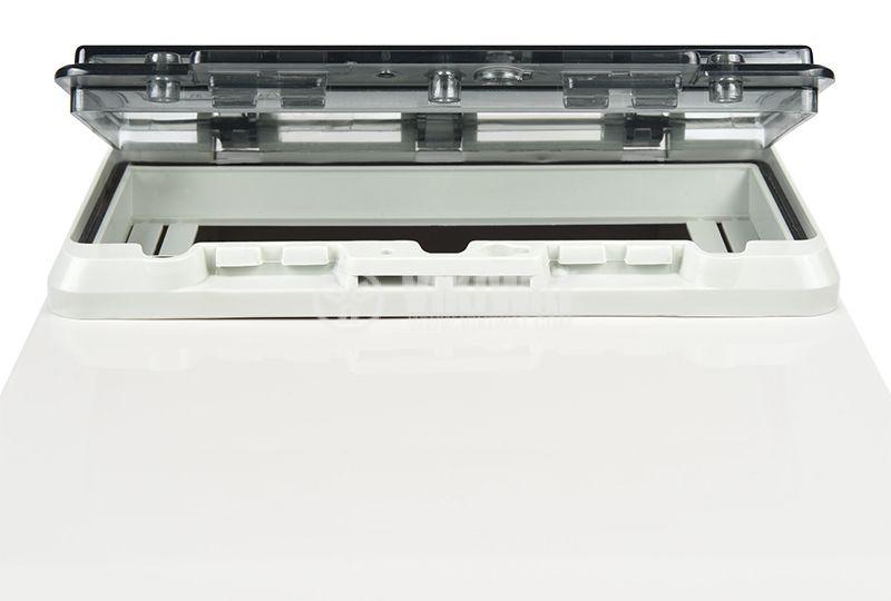 Switch box TJ-AGX-3819, 380x190x150mm, IP67, PVC - 6