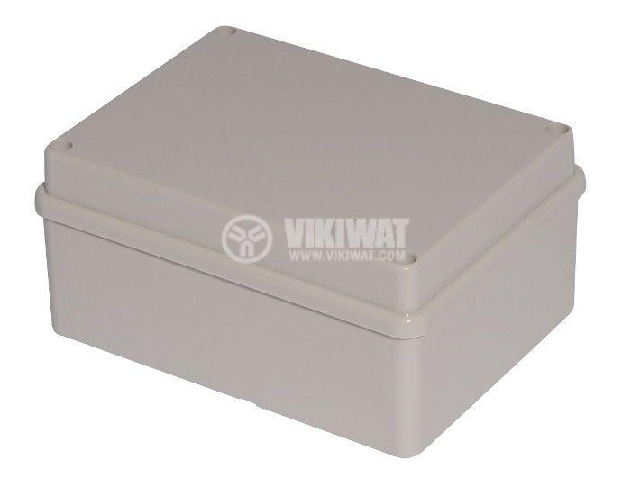 Enclosure box VB-AG-1115. 150x110x70mm, IP66,  grey  - 1