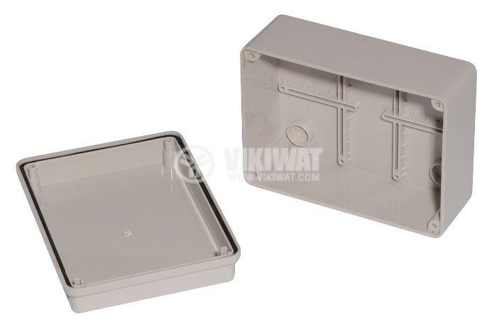Enclosure box VB-AG-1115. 150x110x70mm, IP66,  grey  - 2