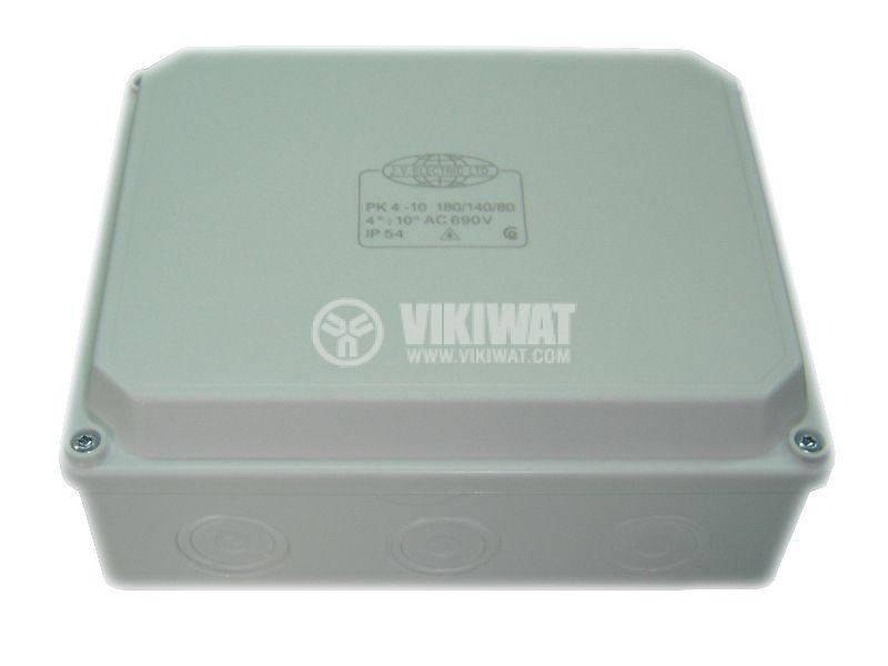 Разклонителна кутия PK180x140x80mm, открит монтаж - 1