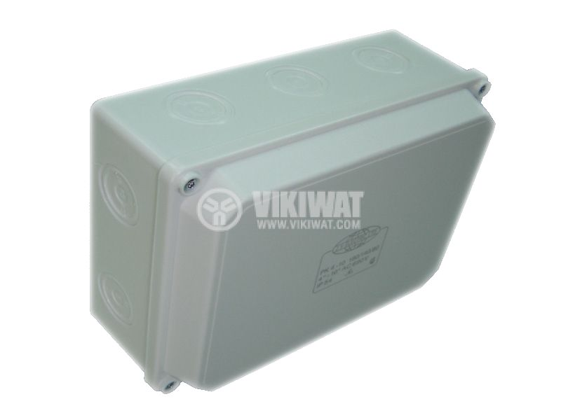 Разклонителна кутия PK180x140x80mm, открит монтаж - 2