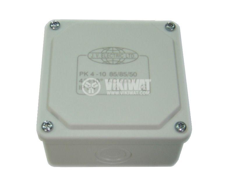 Разклонителна кутия PK85x85x50mm, открит монтаж - 1