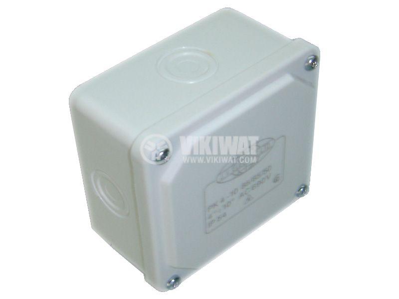 Разклонителна кутия PK85x85x50mm, открит монтаж - 3