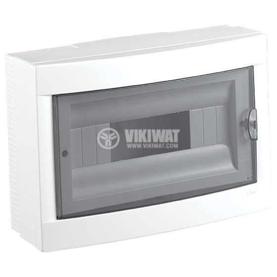 Апартаментно табло, 12 модула, VIKO by Panasonic, бял цвят, 90912112, външен монтаж - 1