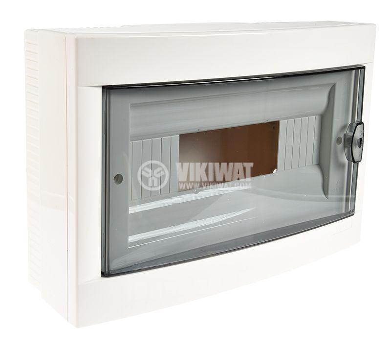 Апартаментно табло, 12 модула, VIKO by Panasonic, бял цвят, 90912112, външен монтаж - 3