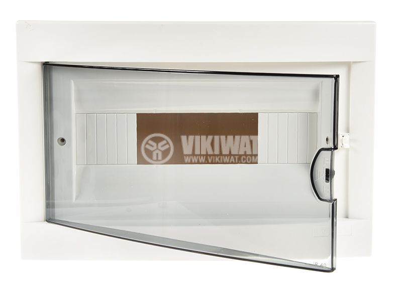 Апартаментно табло, 12 модула, VIKO by Panasonic, бял цвят, 90912112, външен монтаж - 4