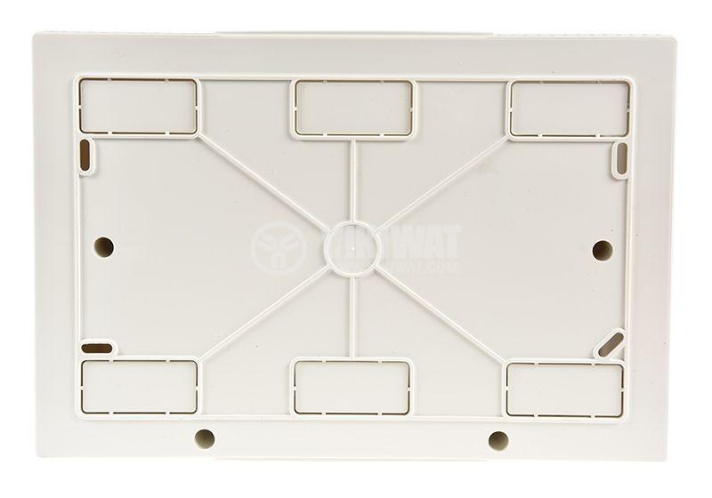 Апартаментно табло, 12 модула, VIKO by Panasonic, бял цвят, 90912112, външен монтаж - 5