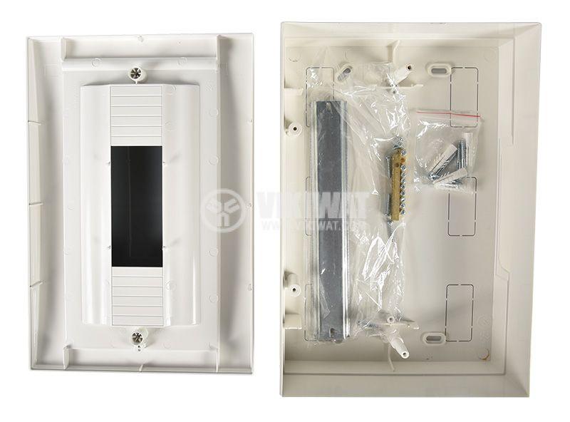 Апартаментно табло, 12 модула, VIKO by Panasonic, бял цвят, 90912112, външен монтаж - 6