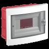 Distribution box, 8 module, VIKO by Panasonic, IP40, waterproof, white, flush mounting - 1
