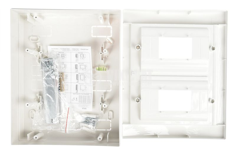 Home Switch Board, 16, surface mounting, PVC - 6