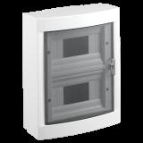 Distribution box, 16 modules, VIKO by Panasonic, white, 90912116, surface mounting