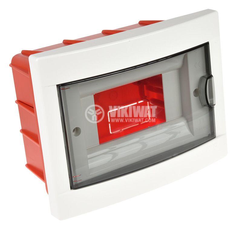 Апартаментно табло, 6 модула, VIKO by Panasonic, 90912006, бял цвят, за вграждане - 3