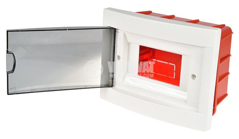 Разпределително ел табло за скрит монтаж, 6 модула VIKO by Panasonic 90912006 - 5