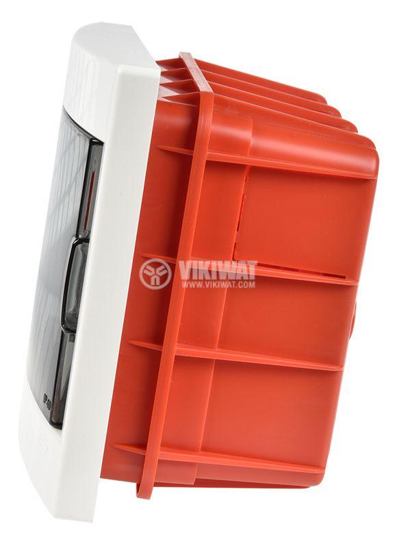 Апартаментно табло, 6 модула, VIKO by Panasonic, 90912006, бял цвят, за вграждане - 6