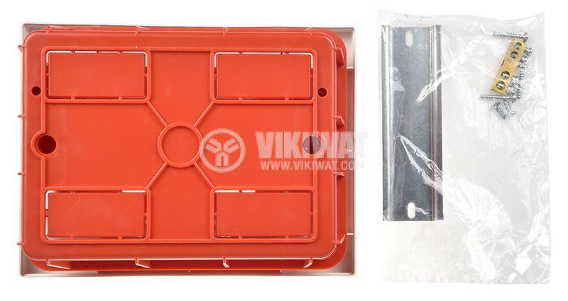 Апартаментно табло, 6 модула, VIKO by Panasonic, 90912006, бял цвят, за вграждане - 7