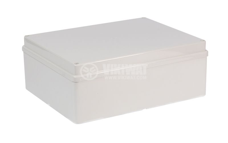 Enclosure box 240х190х90mm, IP56, OLAN, gray - 1