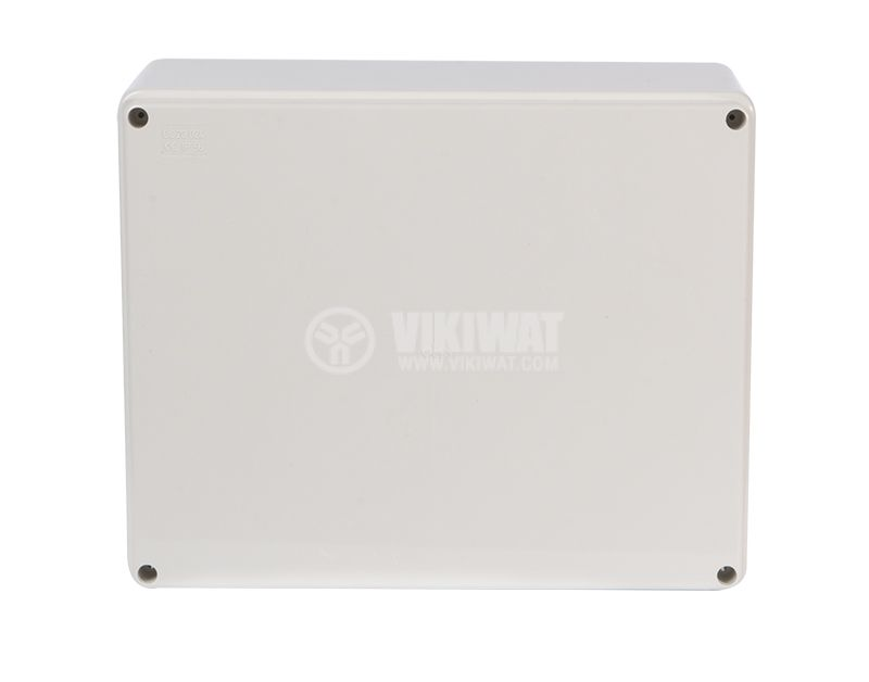 Enclosure box 240х190х90mm, IP56, OLAN, gray - 3