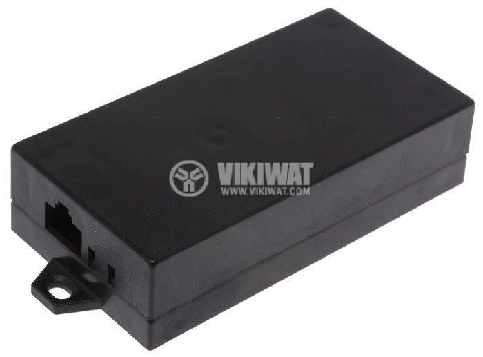Enclosure box P3 plastic103x53x25mm black - 1