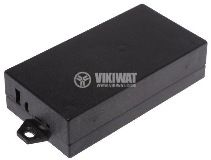 Enclosure box P3 plastic103x53x25mm black - 2