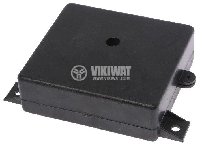 Enclosure box P4 plastic 73x67x24 mm, black - 1
