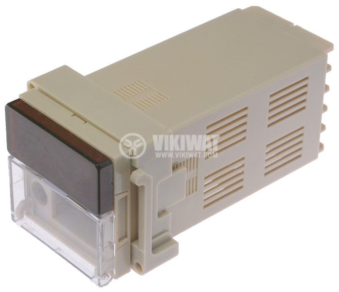 Enclosure box thermoregulator plastic 110x55x48mm, brown - 1