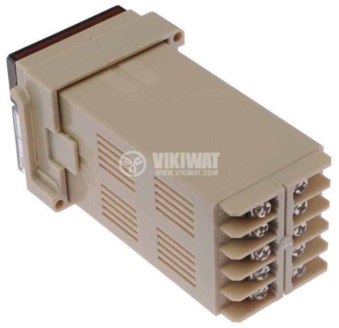 Enclosure box thermoregulator plastic 110x55x48mm, brown - 2