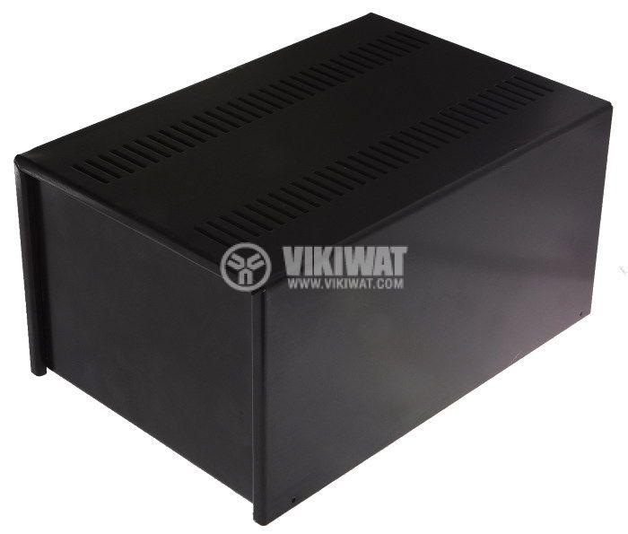 Metal box universal 300x200x150mm black