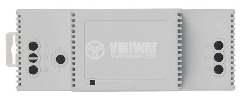 Кутия 2M, сива, 94x68x36mm, DIN шина - 4