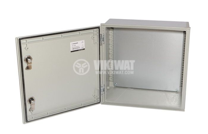 Polyester box VP-440, 400x400x200mm, IP65 - 2