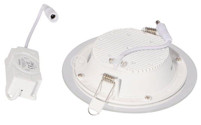 LED панел за окачен таван BL03-1620, 16W, 220VAC, 6400K, студенобял, Ф200mm, за вграждане - 4
