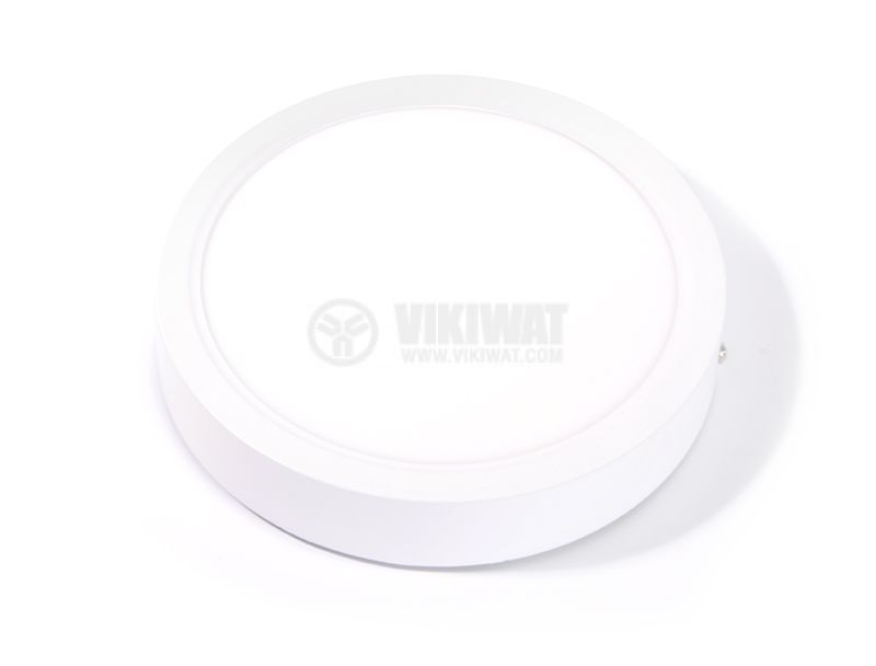 LED panel 6W, 220VAC, 3000K, warm white, ф120mm, BL05-0600 - 4