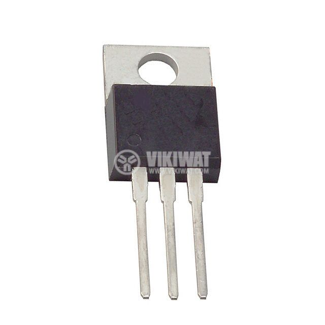Транзистор BUL381D, NPN с вграден диод, 800 V, 5 A, 70 W, TO220