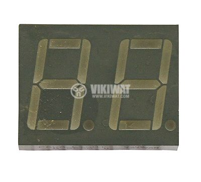 LED индикатор LIGHT A562Green/anode 20x25x7mm