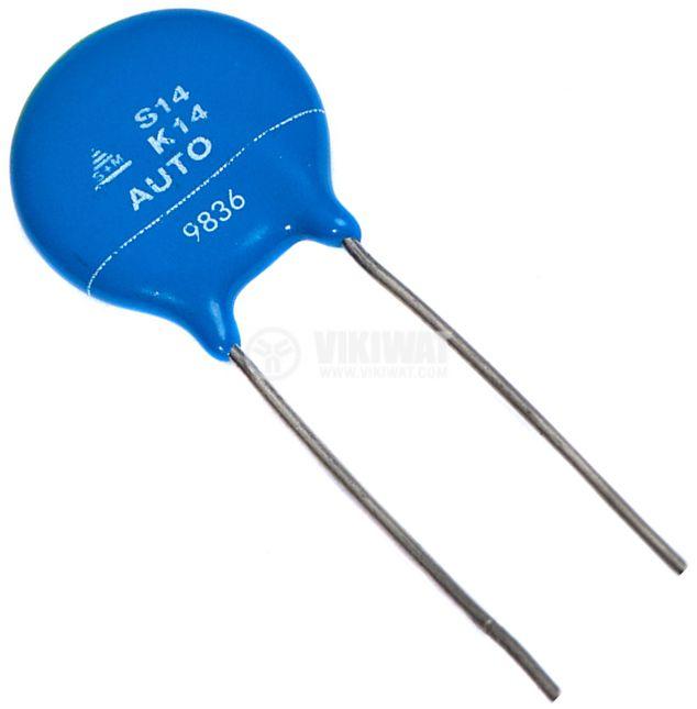 Варистор S14K14, 18 VDC, 14 VAC