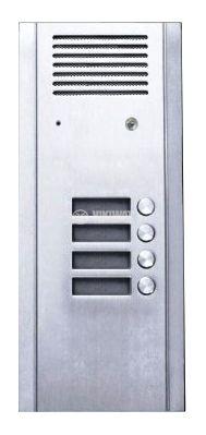 Intercom panel, 4 buttons