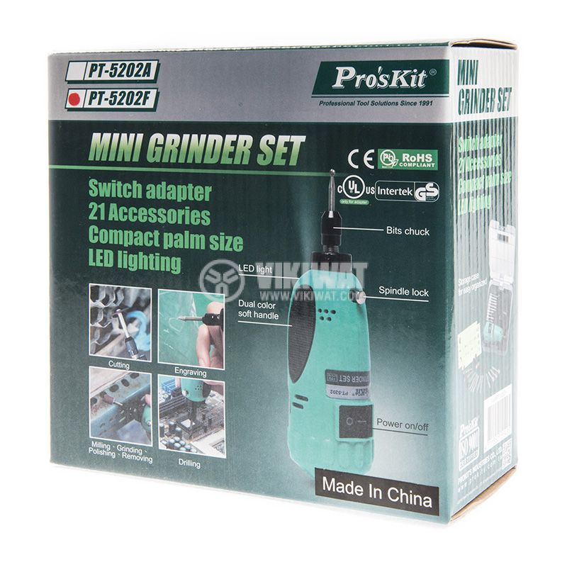 Mini grinder PT5202F - 3
