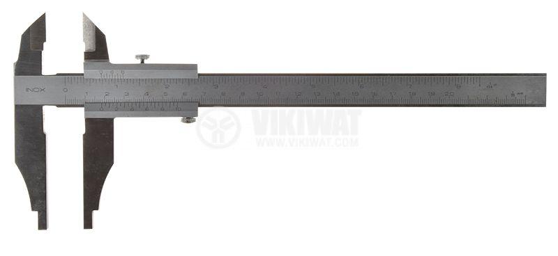 Caliper, metal, 0-200mm - 2