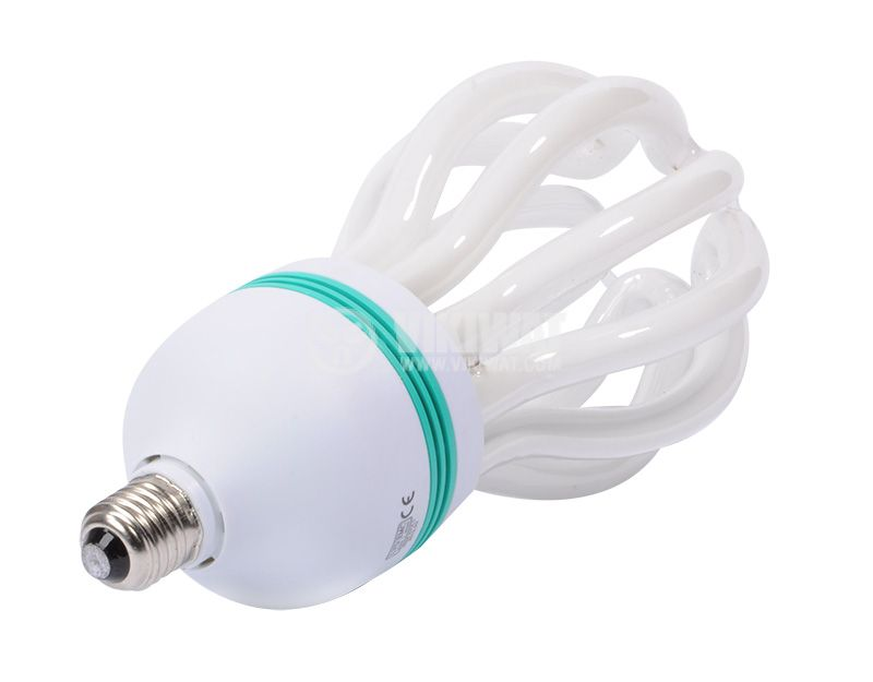 Energy saving lamp ALNET E27, 120W, 220VAC, 8000 K - 3