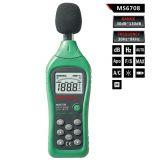 Digital sound level meter MS6708 , 30dB - 130dB