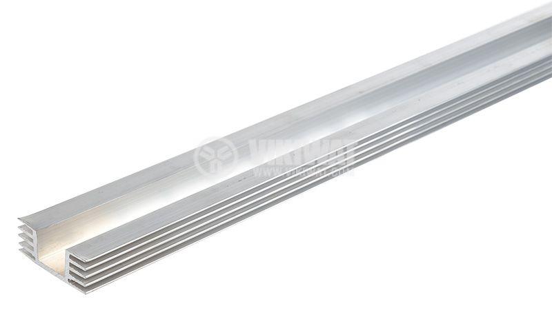 охлаждащ радиатор 48.2x20mm 1m алуминиев - 1