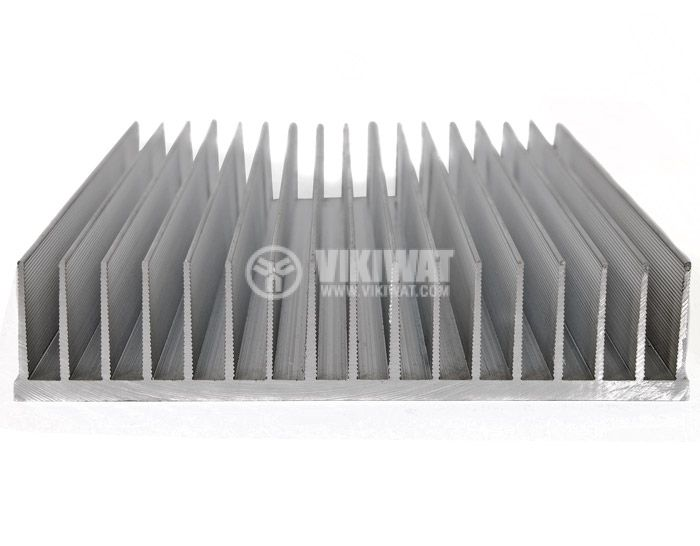 Aluminum cooling radiator profile 1000mm 165x35x5 mm - 1