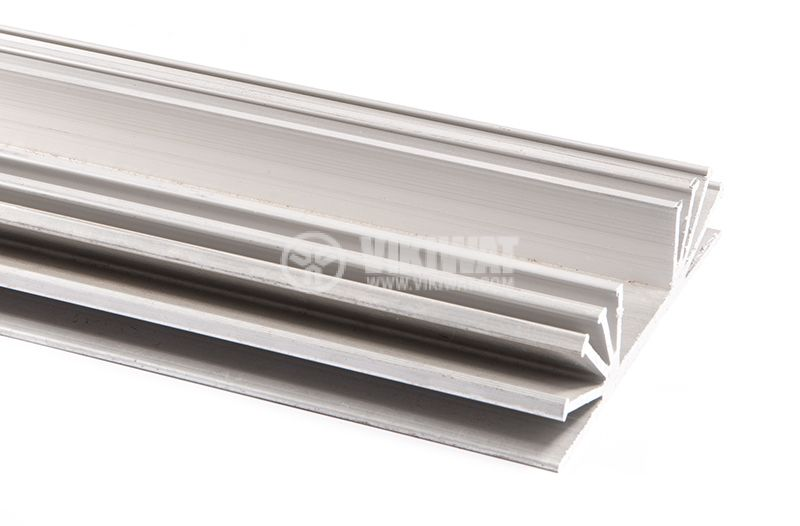 Aluminum cooling radiator profile 0194 1000mm 105x25 mm - 1