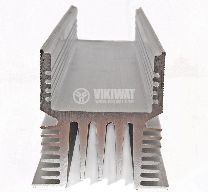 Aluminum cooling radiator profile 1000mm SSR relays - 1