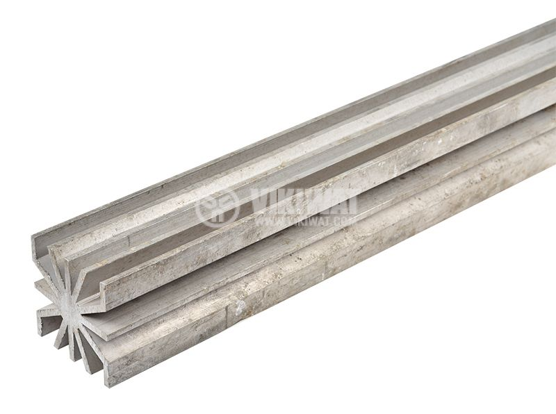 Алуминиев радиатор за охлаждане 0154 50x50mm