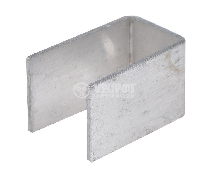 Алуминиева планка 20x12x12 mm - 2