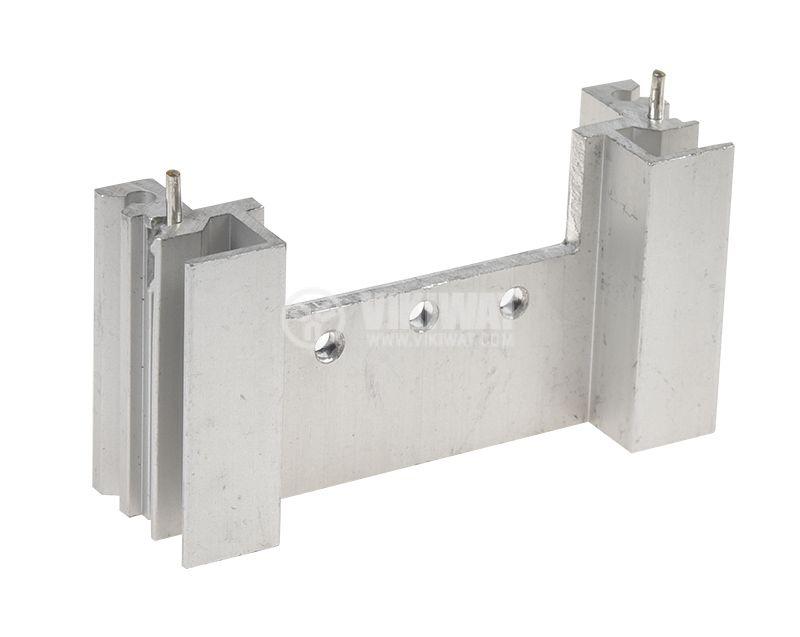 Алуминиев радиатор за охлаждане 58x18mm дължина 30mm - 1