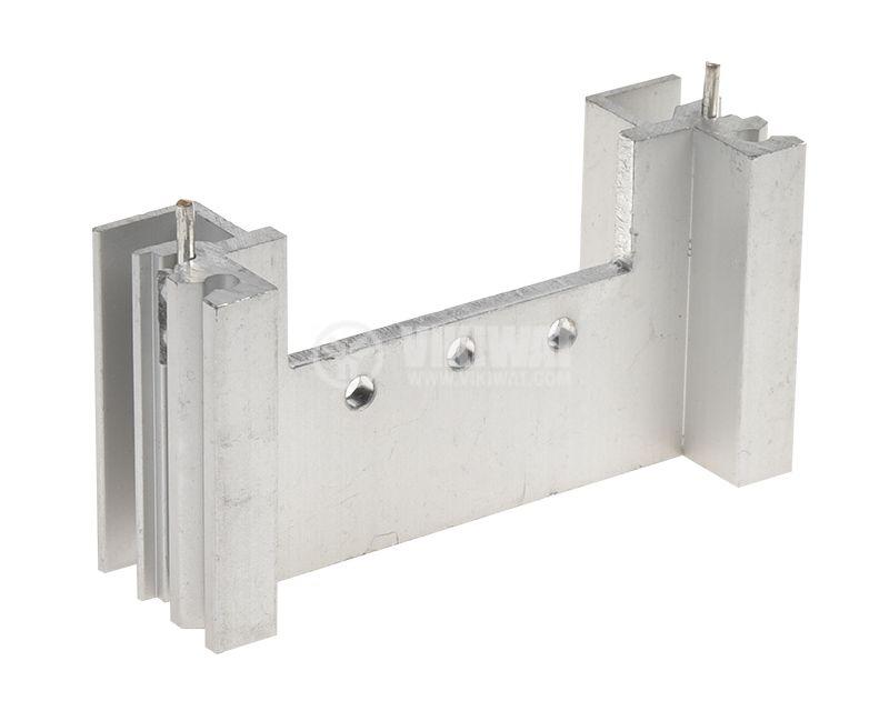 Радиатор за охлаждане 58x18mm алуминиев дължина 30mm - 2