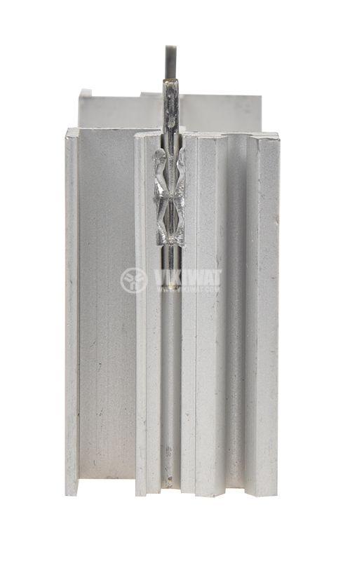Алуминиев радиатор за охлаждане 58x18mm, дължина 30mm - 3