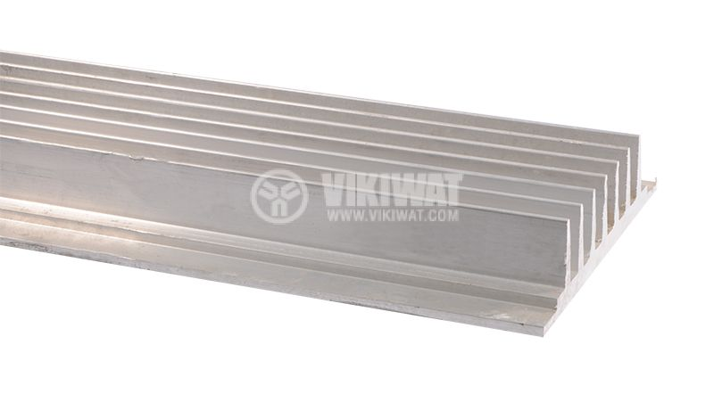 Aluminum profile for cooling, 1000x39mm - 1